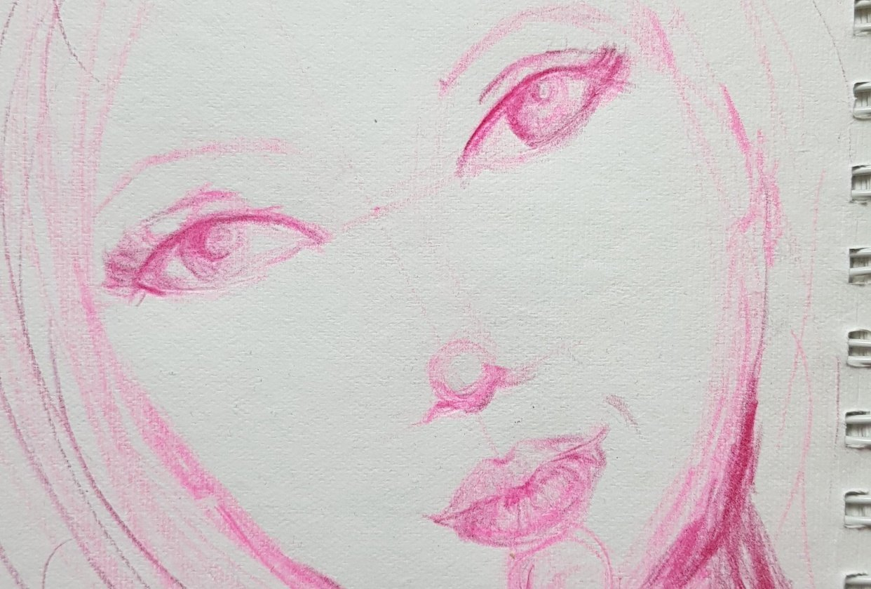 Whimsical Faces - student project