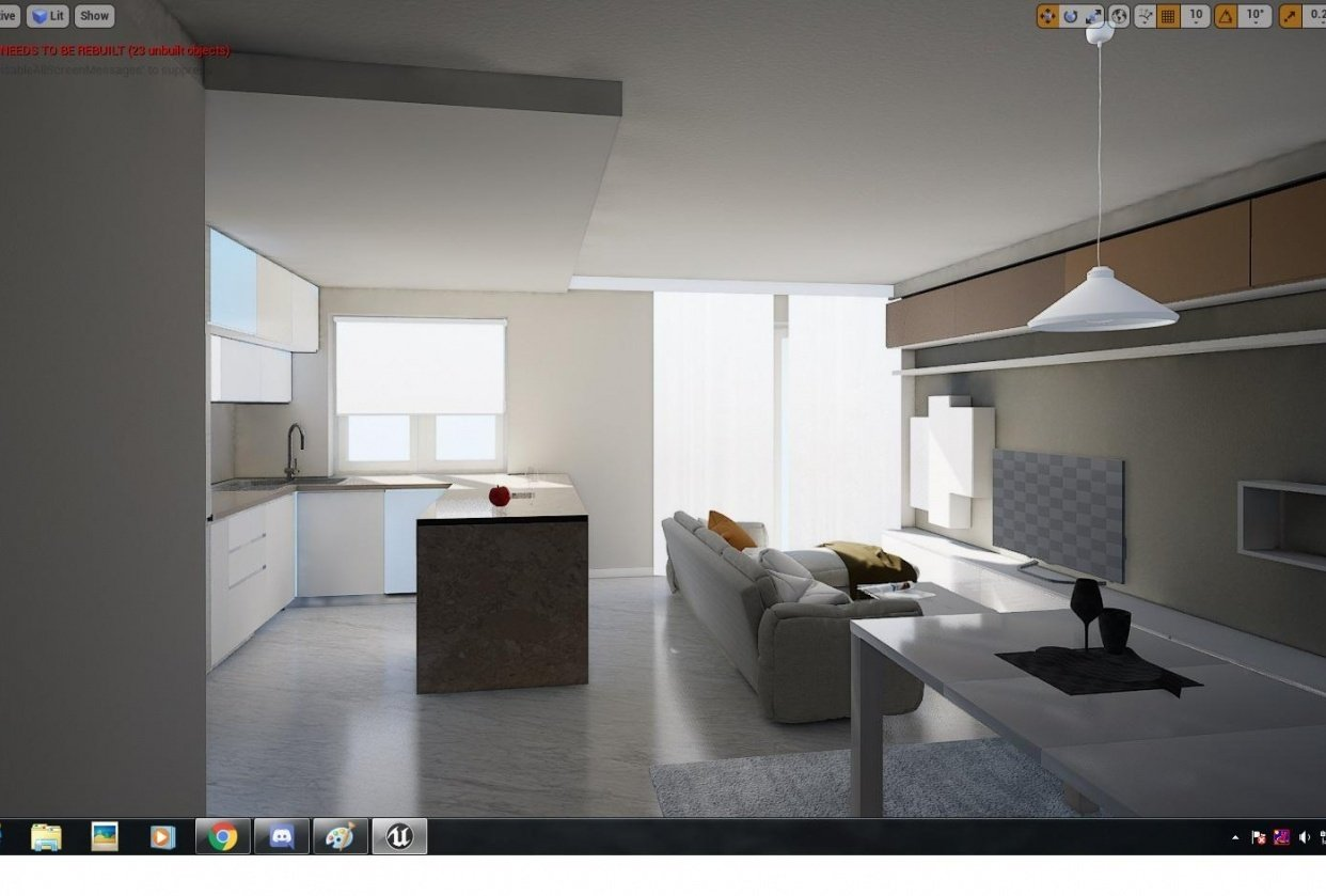 Micro apartment - Interiors - student project