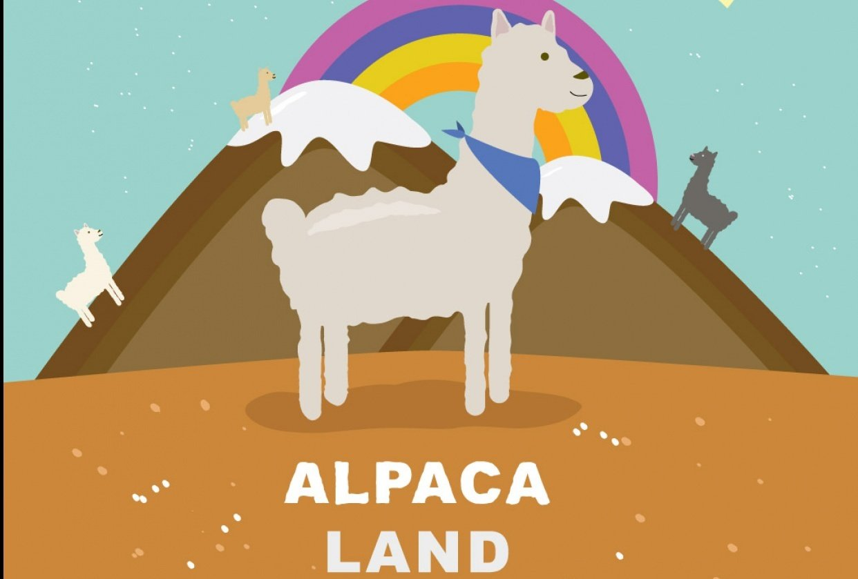 Alpaca land! - student project