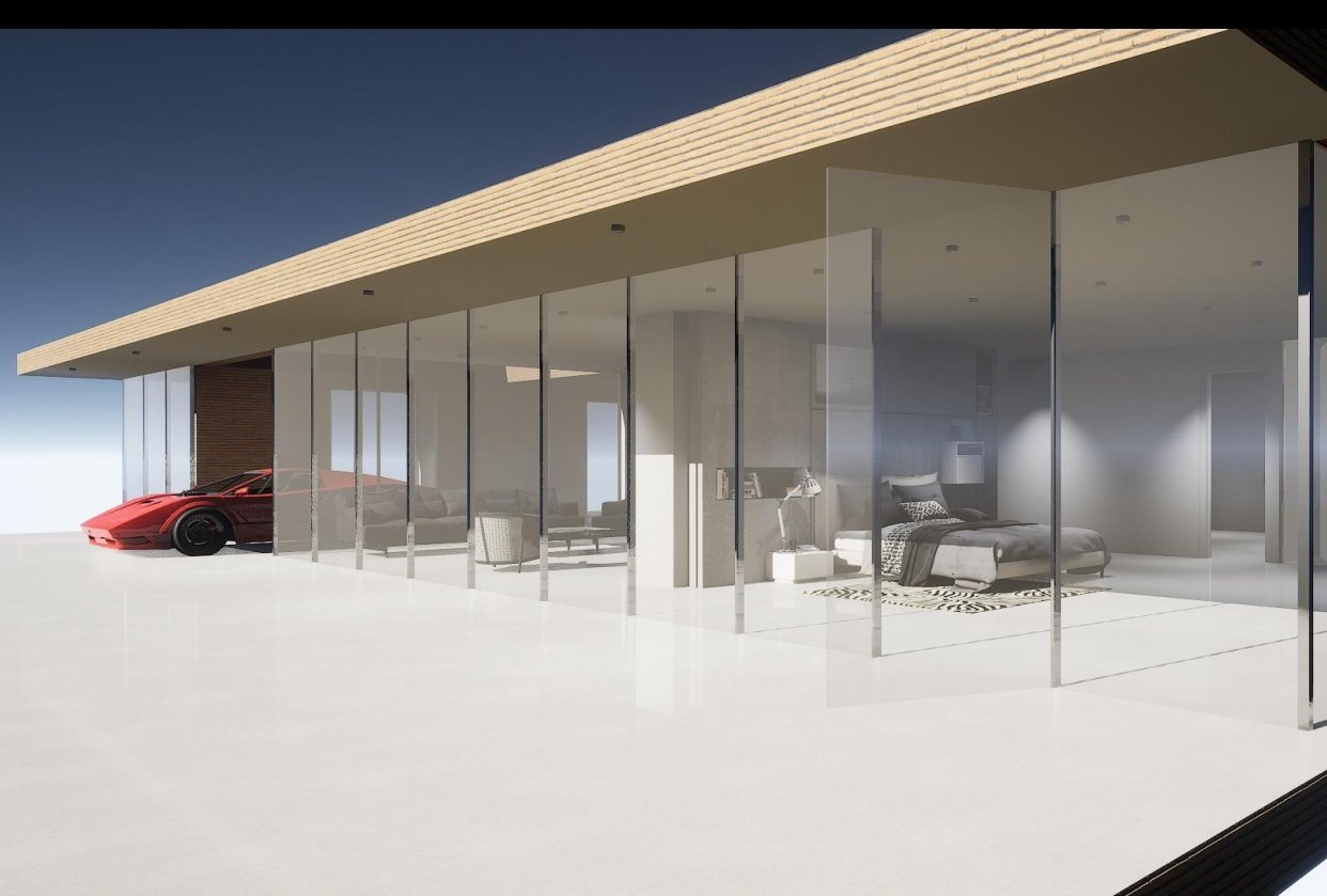 Glass Villa Project - student project