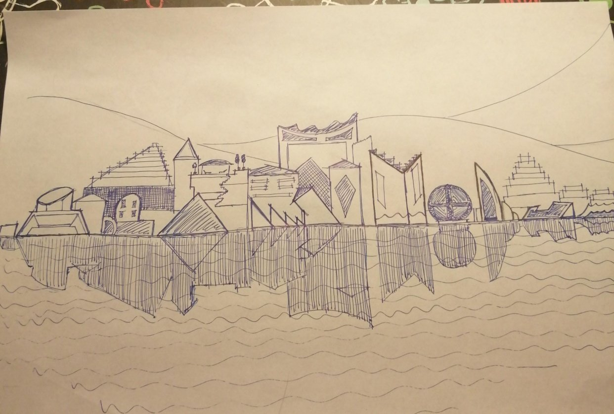 Porto in fantasy - student project