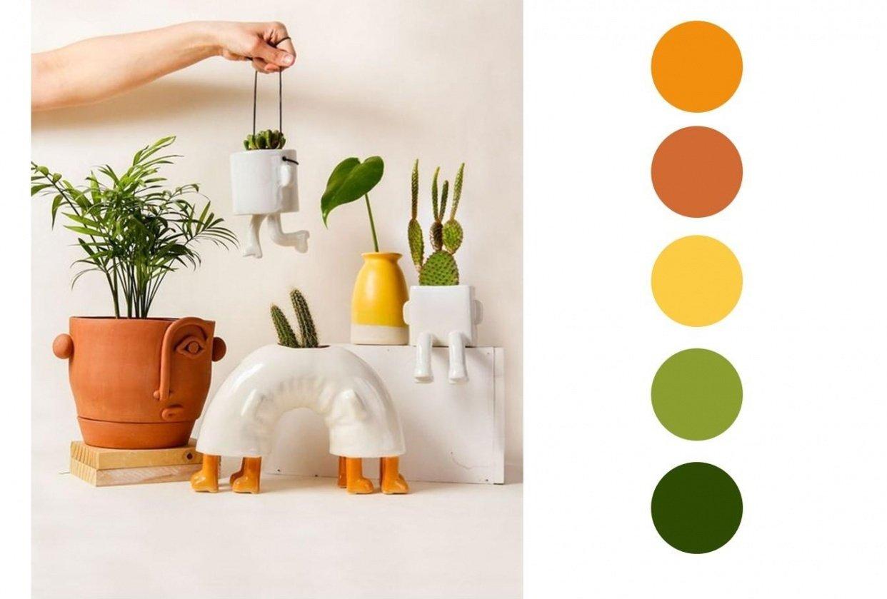 Terra Cotta & Warm Colors - student project