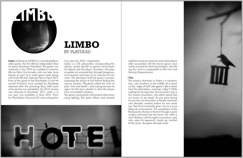 Indigo | Independent Videogames Magazine - student project