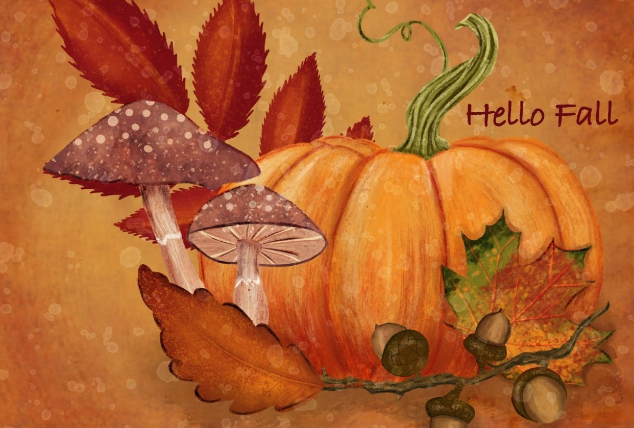 Hello Fall - student project