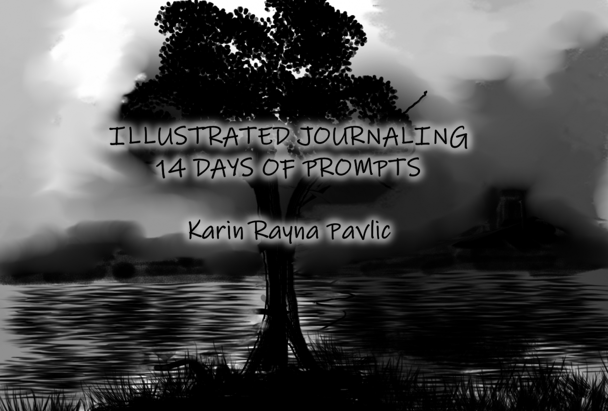 Illustrated Journaling - 14 Days of Prompts with Dylan Mierzwinski - student project