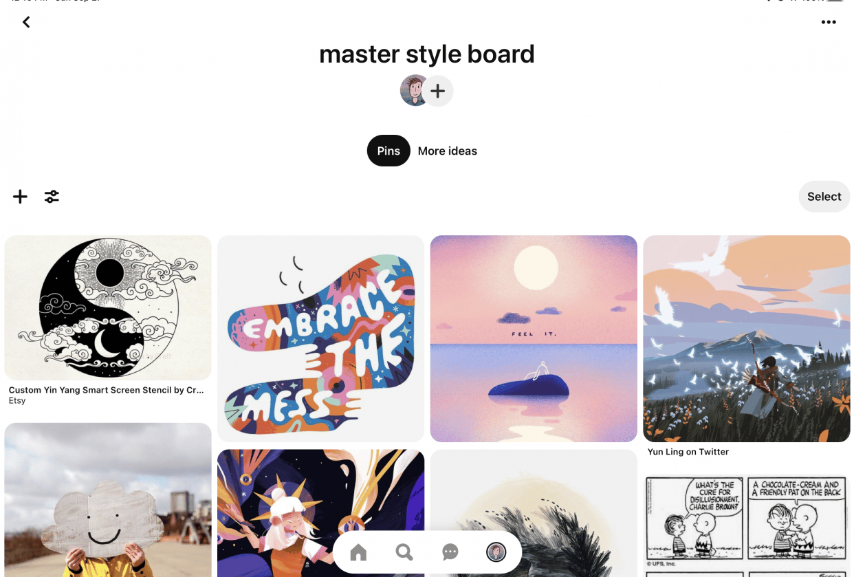 master board - student project