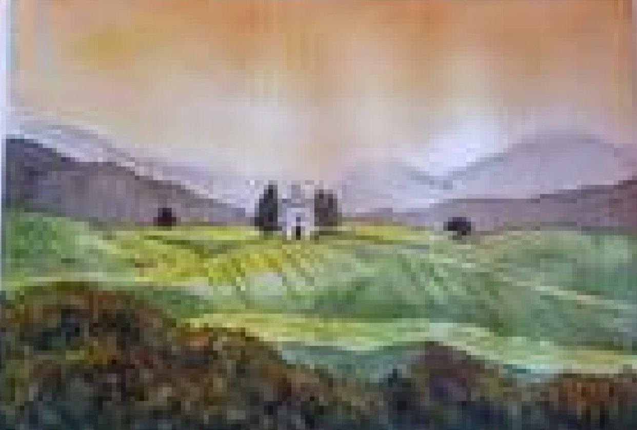 tuscan practice scene - student project