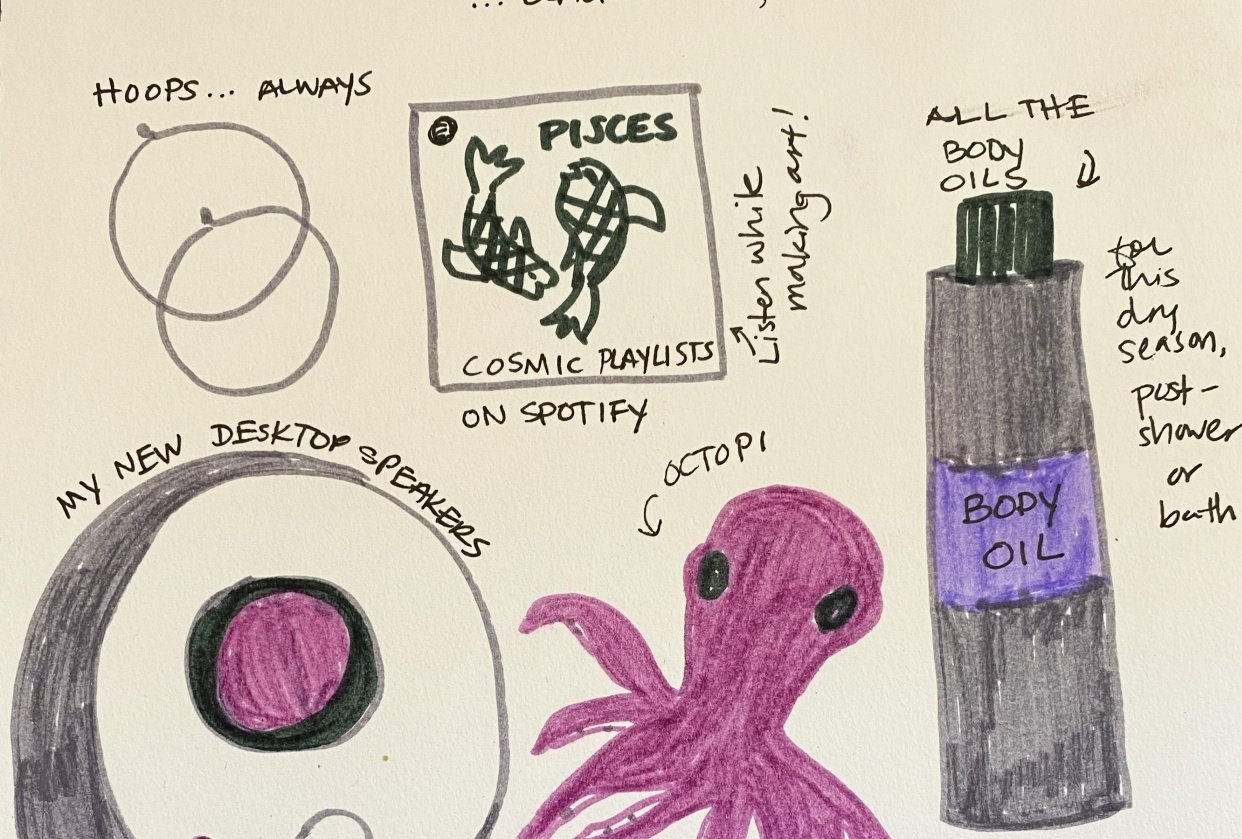 14 Days of Ilustrated Journaling - student project