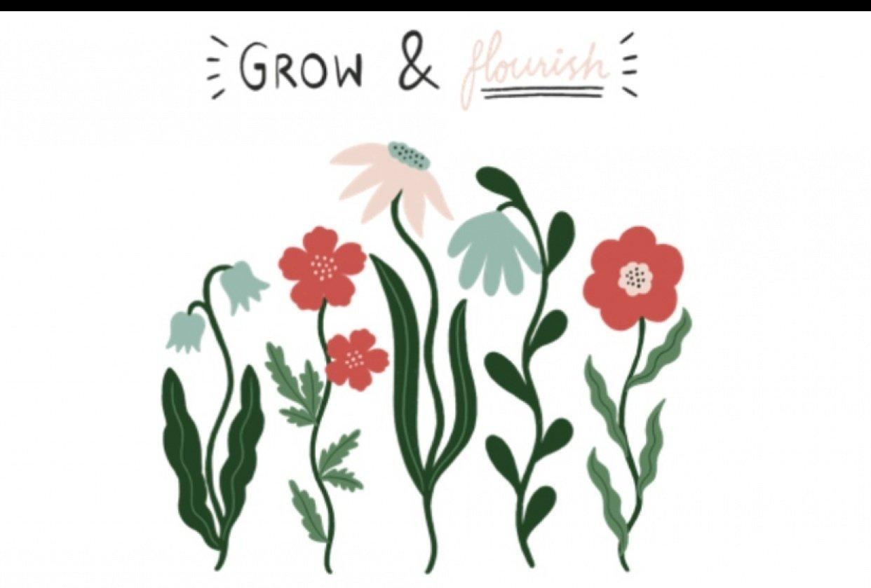 Grow & Flourish GIF - student project