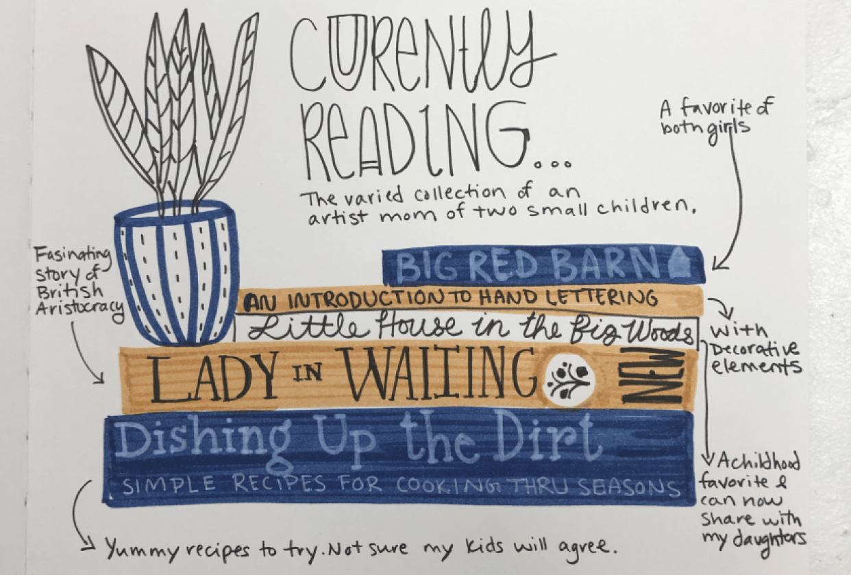 28 Days of Journaling - student project