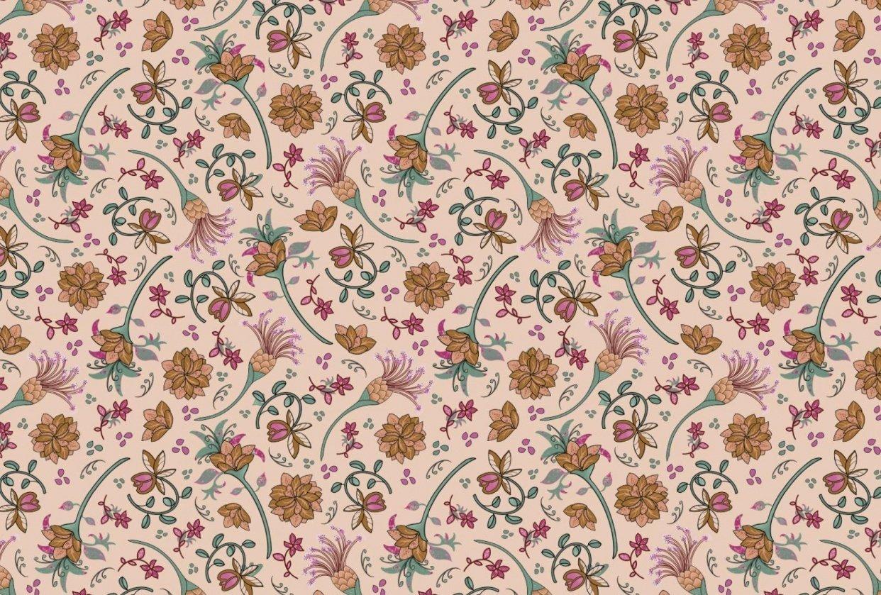 Mandala floral - student project