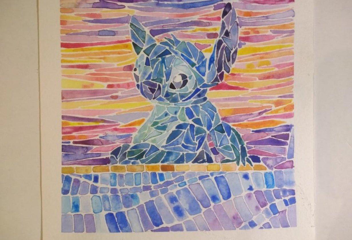 lil stitch - student project