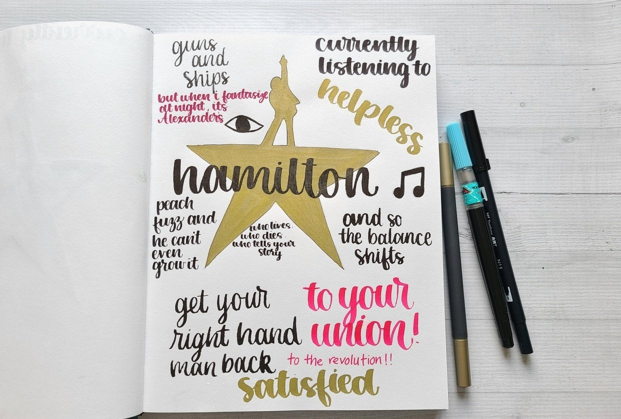 Illustrative Journaling-14 days - student project
