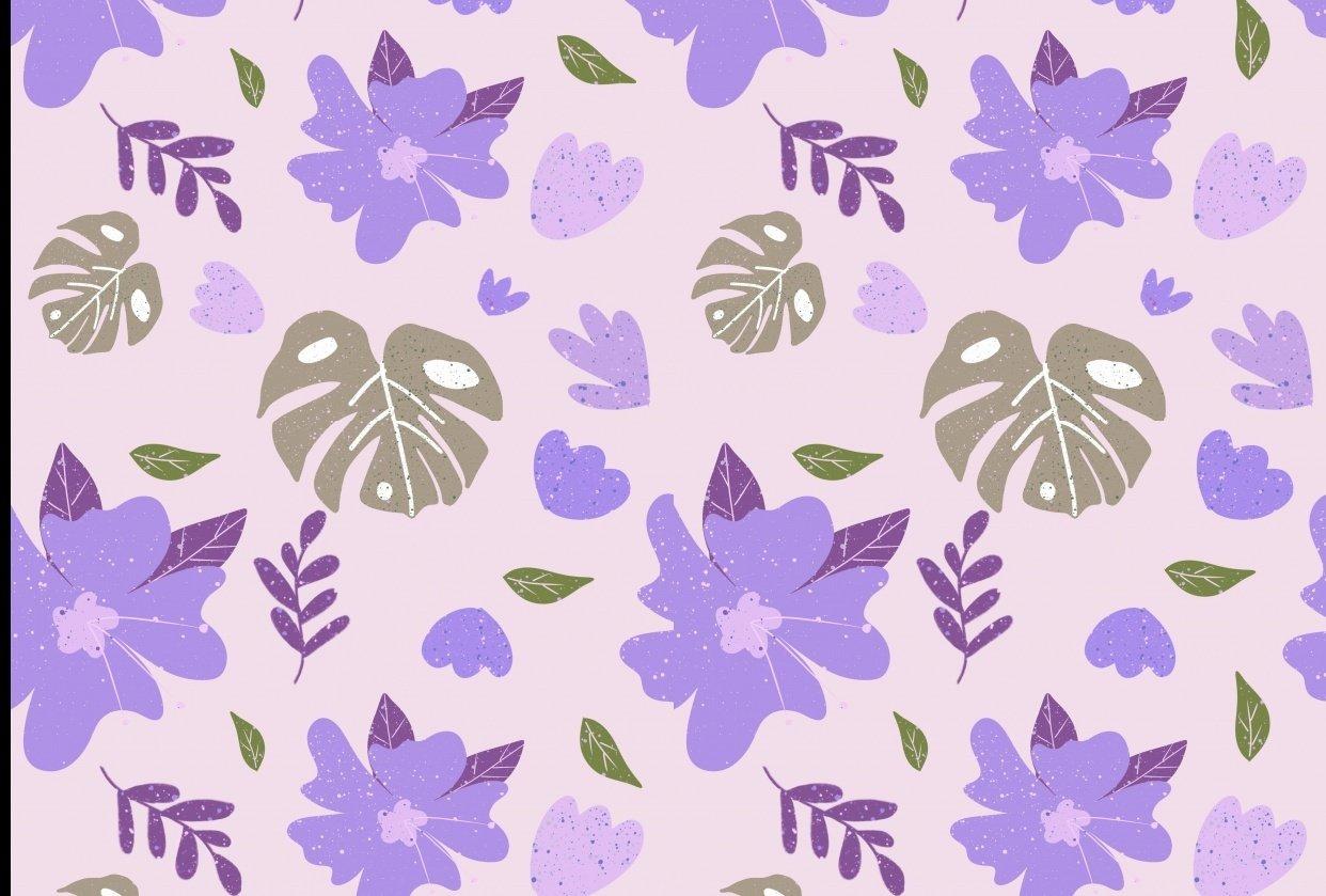 Sameless pattern-purple - student project