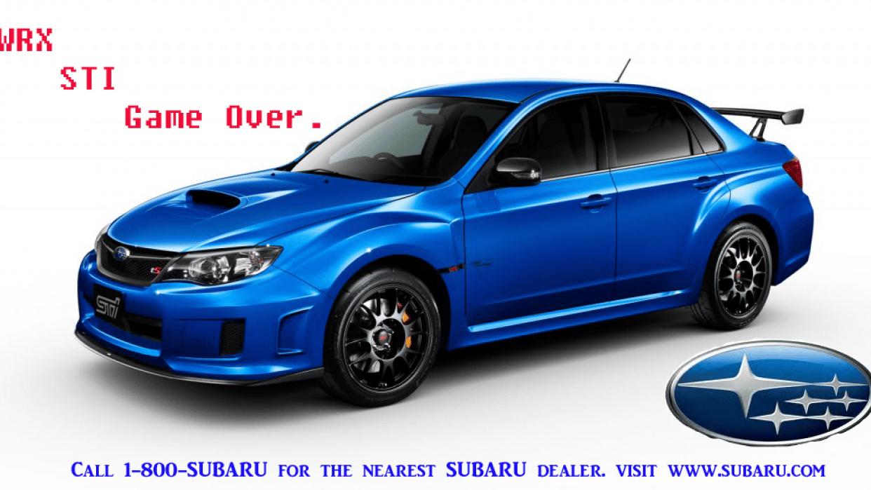 Subaru Spec Ad - student project