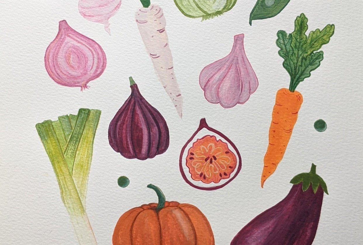 Veggie Harvest - student project