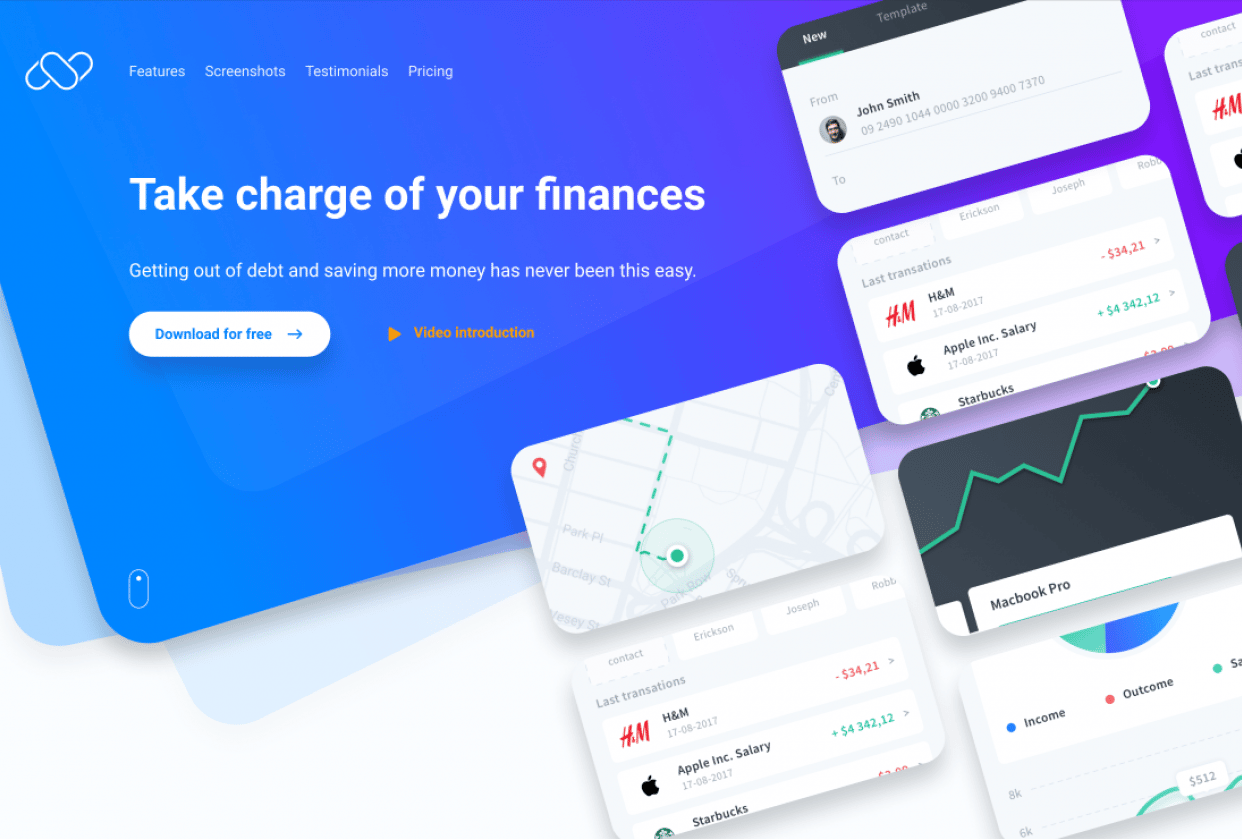 Project Numm - Landing Page - VJ - student project