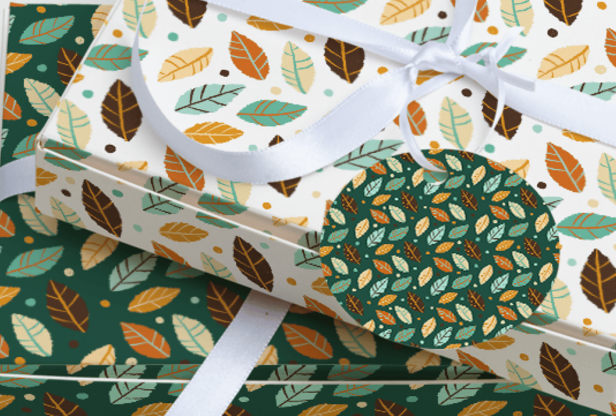 Seamless Patterns in Procreate - student project