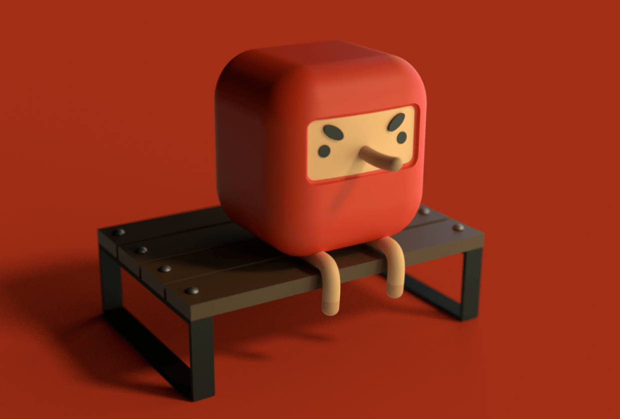 Lil Bench Dude - student project