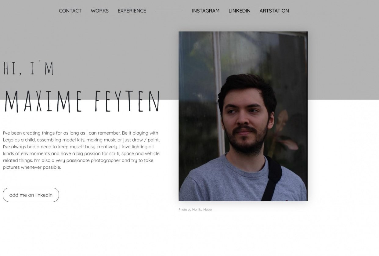 Portfolio - student project