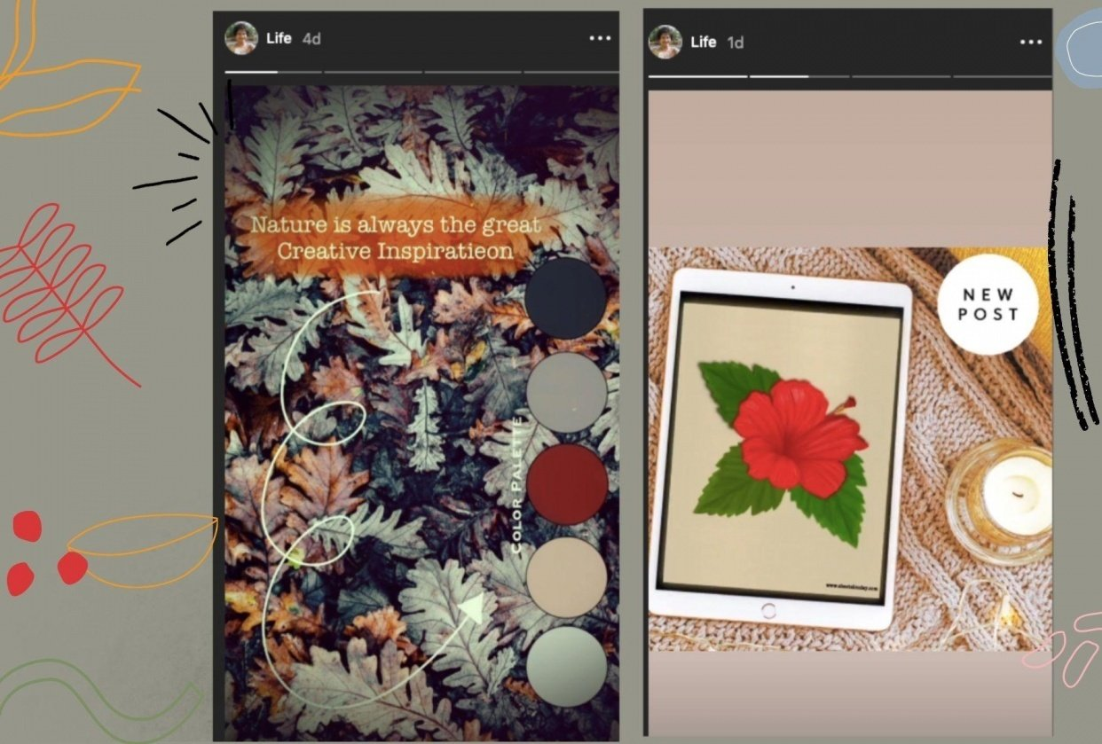 Instagram Stories Ideas Project Marker Tool - student project