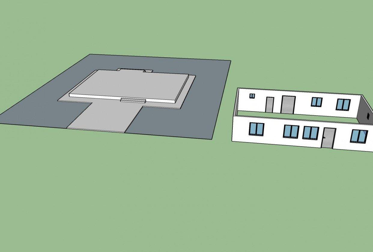 Creating a House Walls (HanSeong) - student project