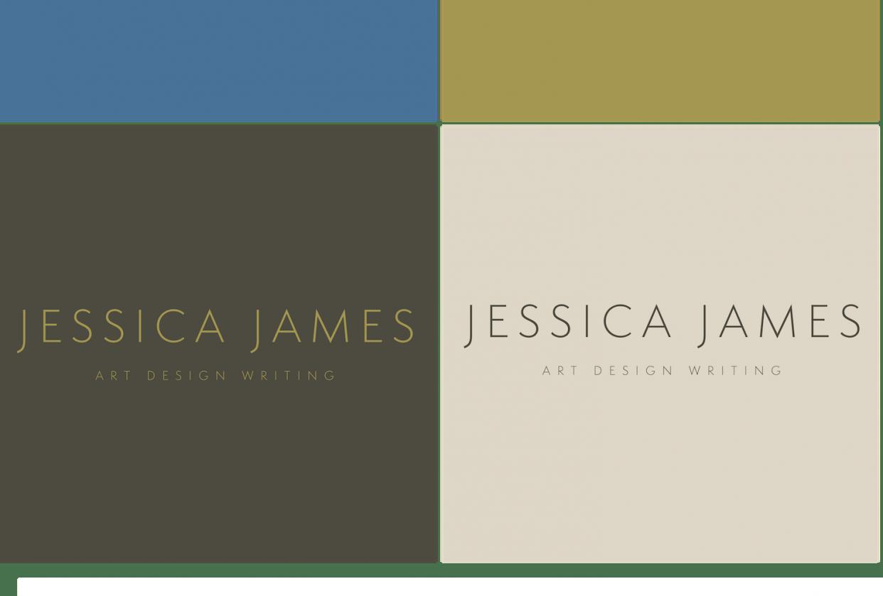 Jessica James - Personal Rebranding - student project