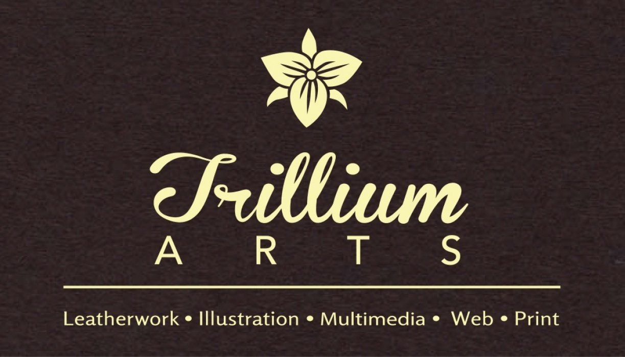 Trillium Arts Business Card options - student project