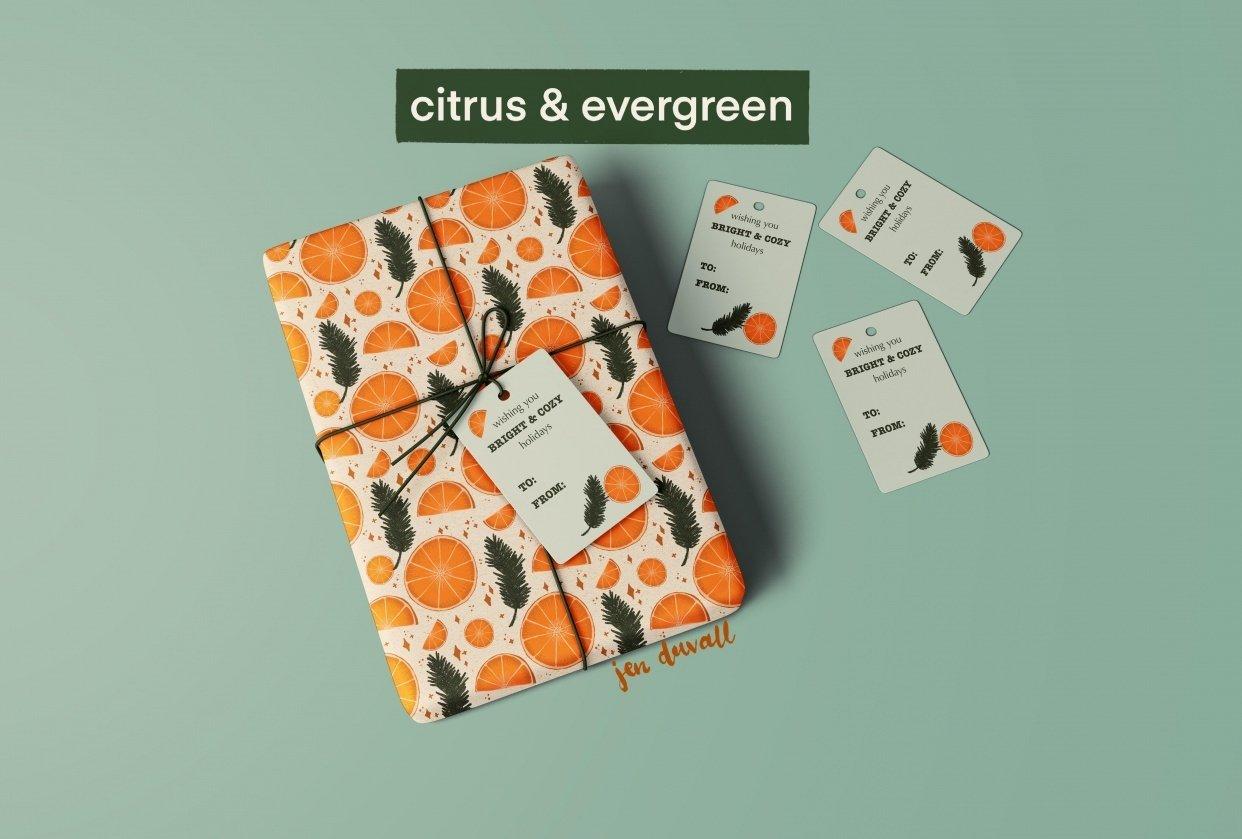 Citrus & Evergreen - student project