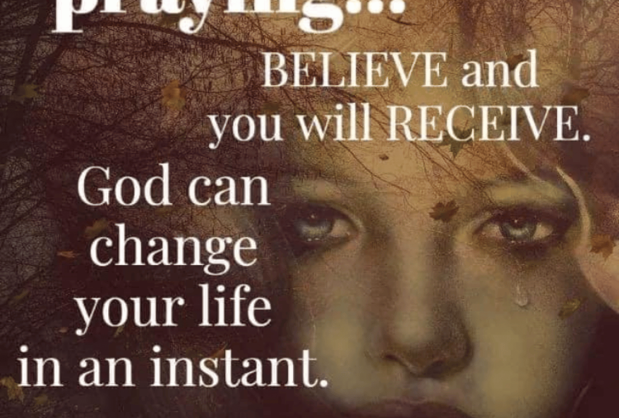 What God can do for us if we believe in him - student project