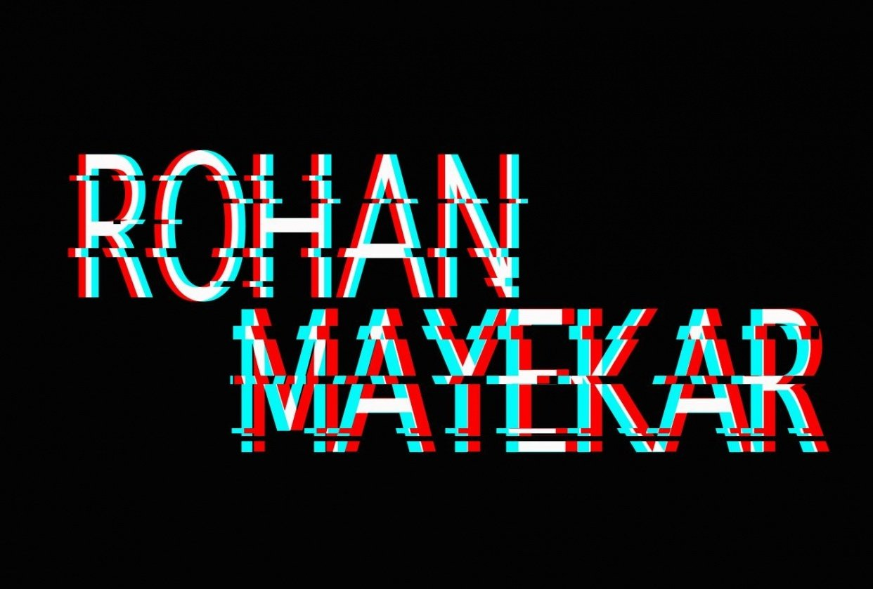Rohan Mayekar - student project