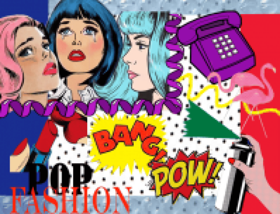 Pop Fashion by Traci Ciccarelli  - student project
