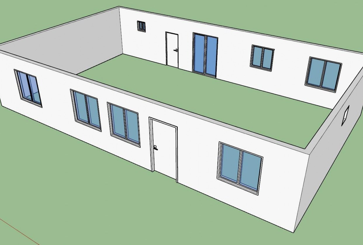 walls, doors, and windows - student project