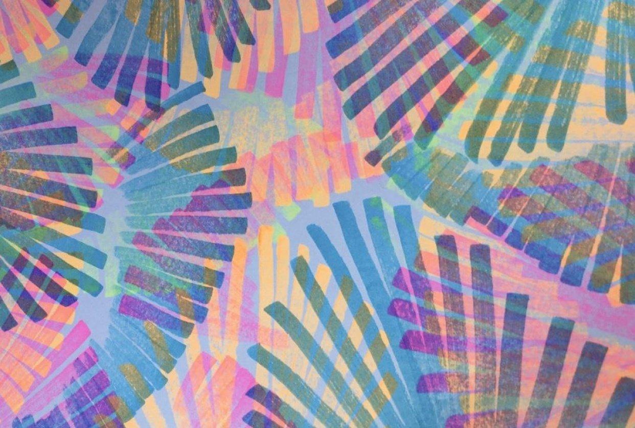rainbow palms - student project