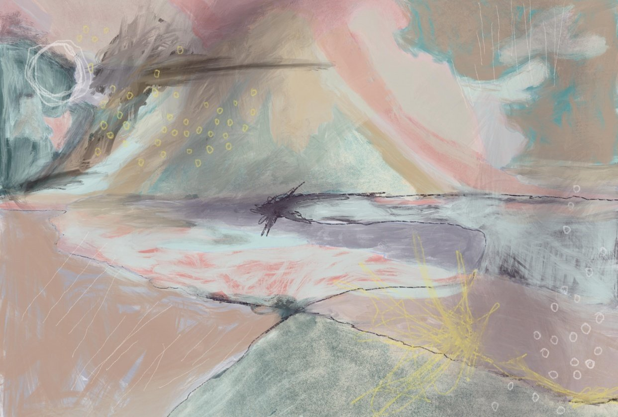 Landscape Abstract - student project