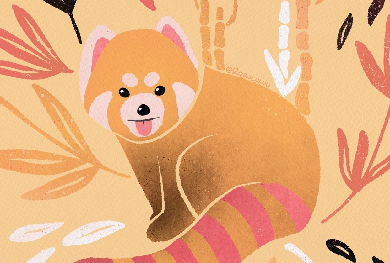 Not so Red Panda - student project