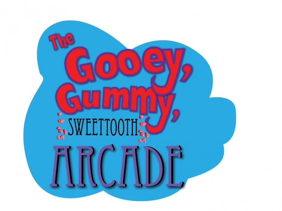 Children's Interactive storybook-The Gooey, Gummy, Sweet tooth arcade - student project