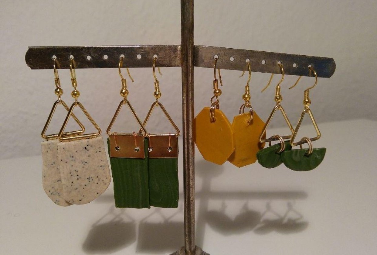 Earrings - student project