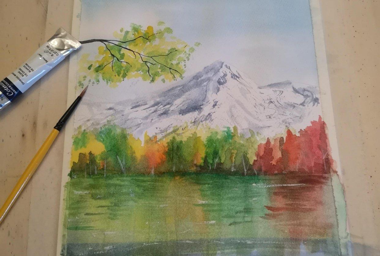 My autumn landscapes - student project