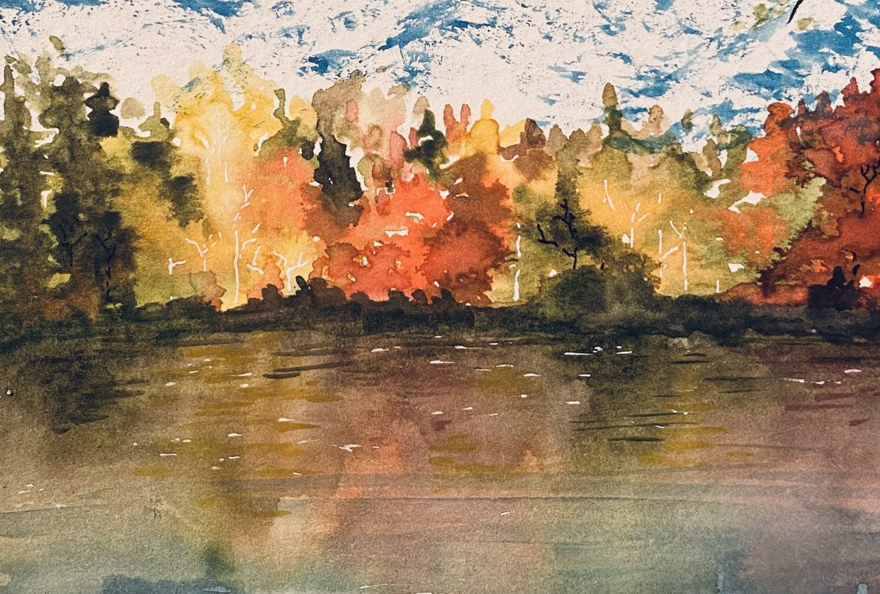 AutumnLandscapes_lake - student project
