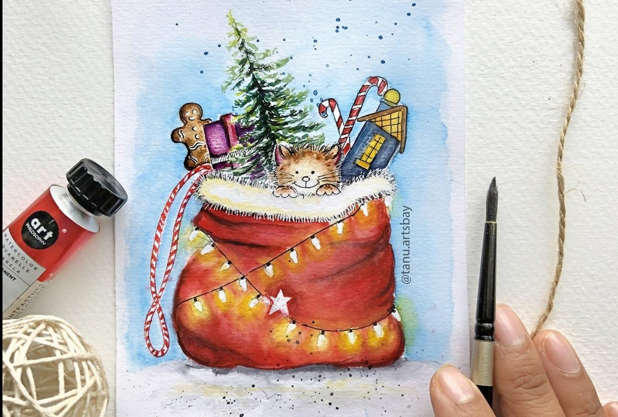 Christmas Loading !! - student project