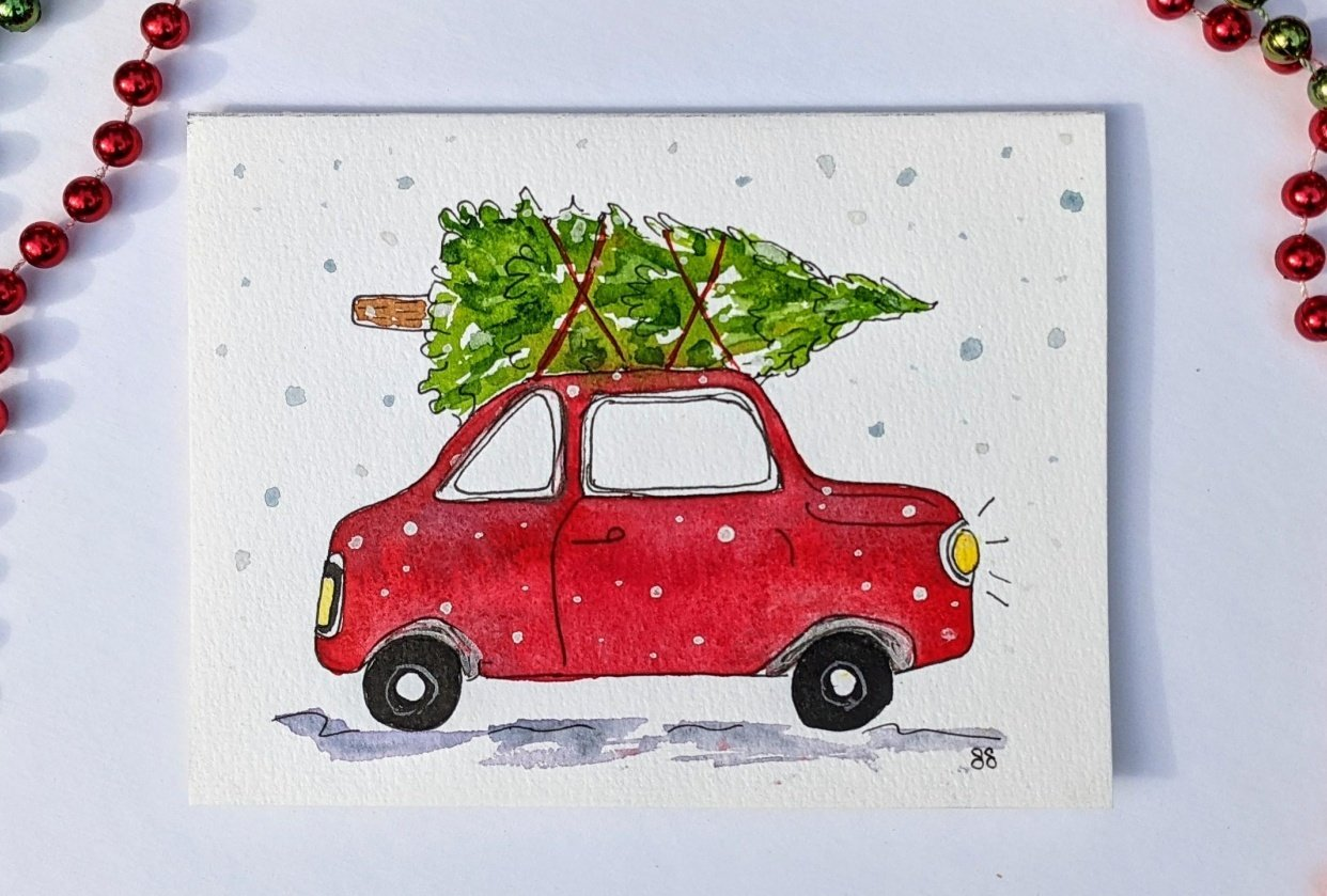 Holiday Cards - student project