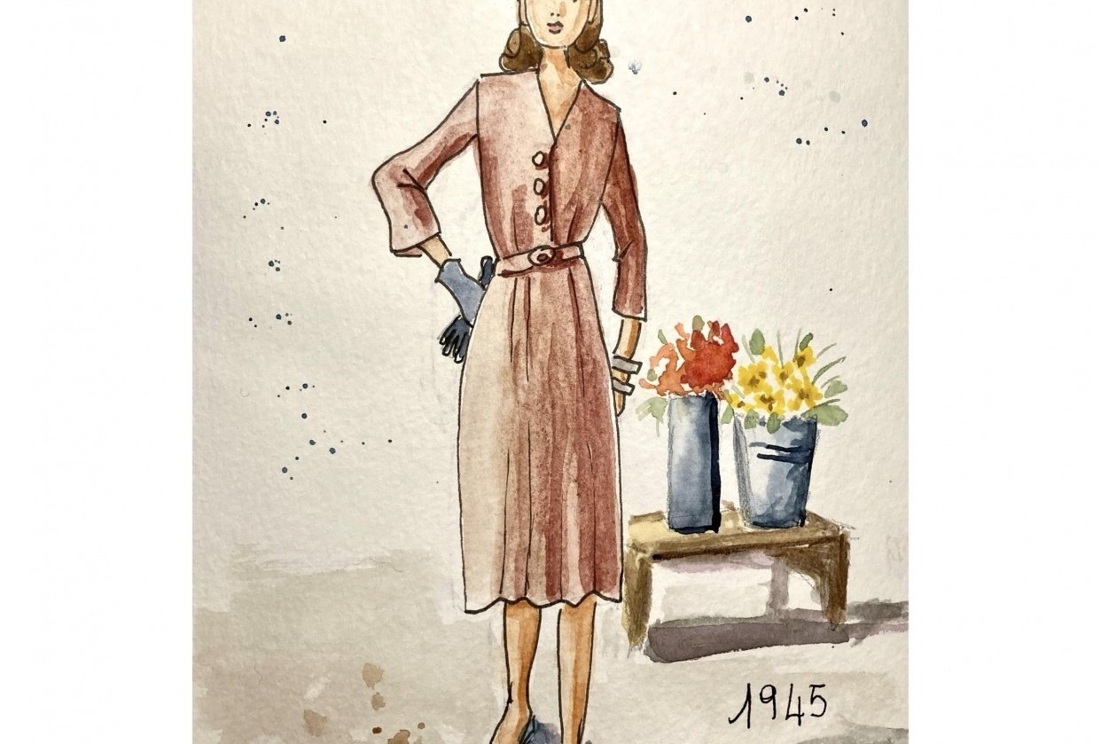 Vintage fashion - student project