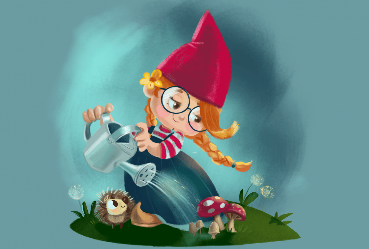 Gnomes Garden - student project