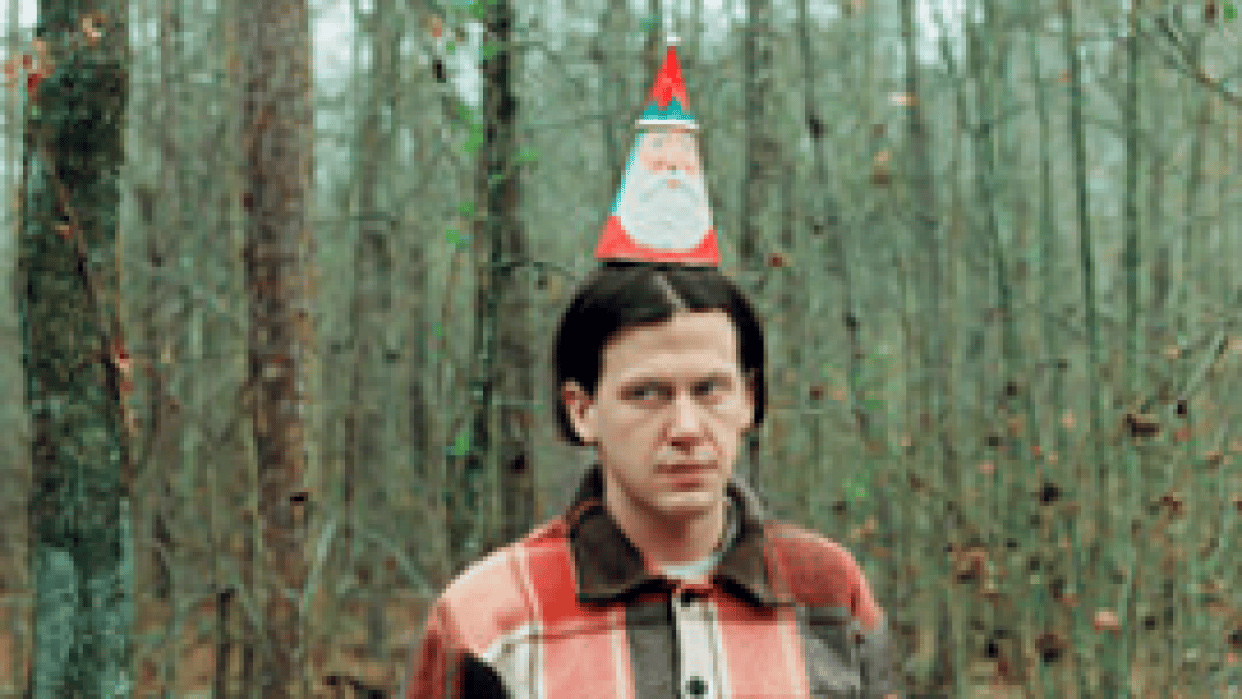 Jeff Mangum (Neutral Milk Hotel) With Tall Firs Gig poster - student project