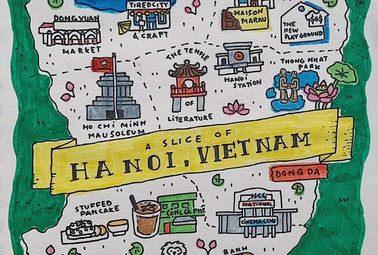 A slice of Hanoi - student project