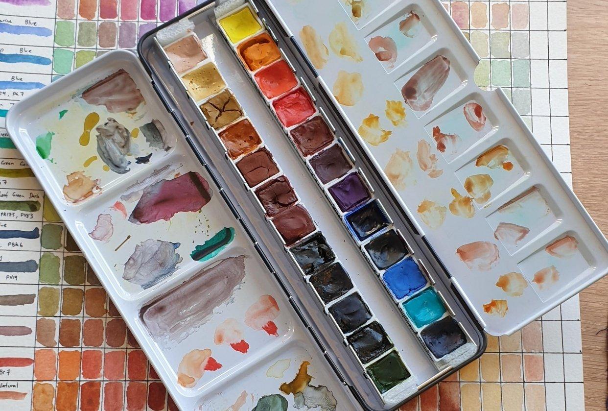 Art Spectrum Palette - student project