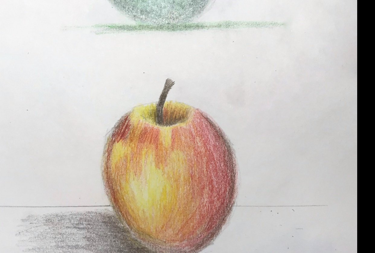 apple and sphere - student project