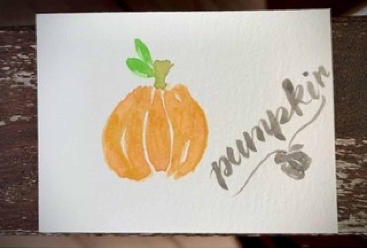 5 Fall Paintings - student project