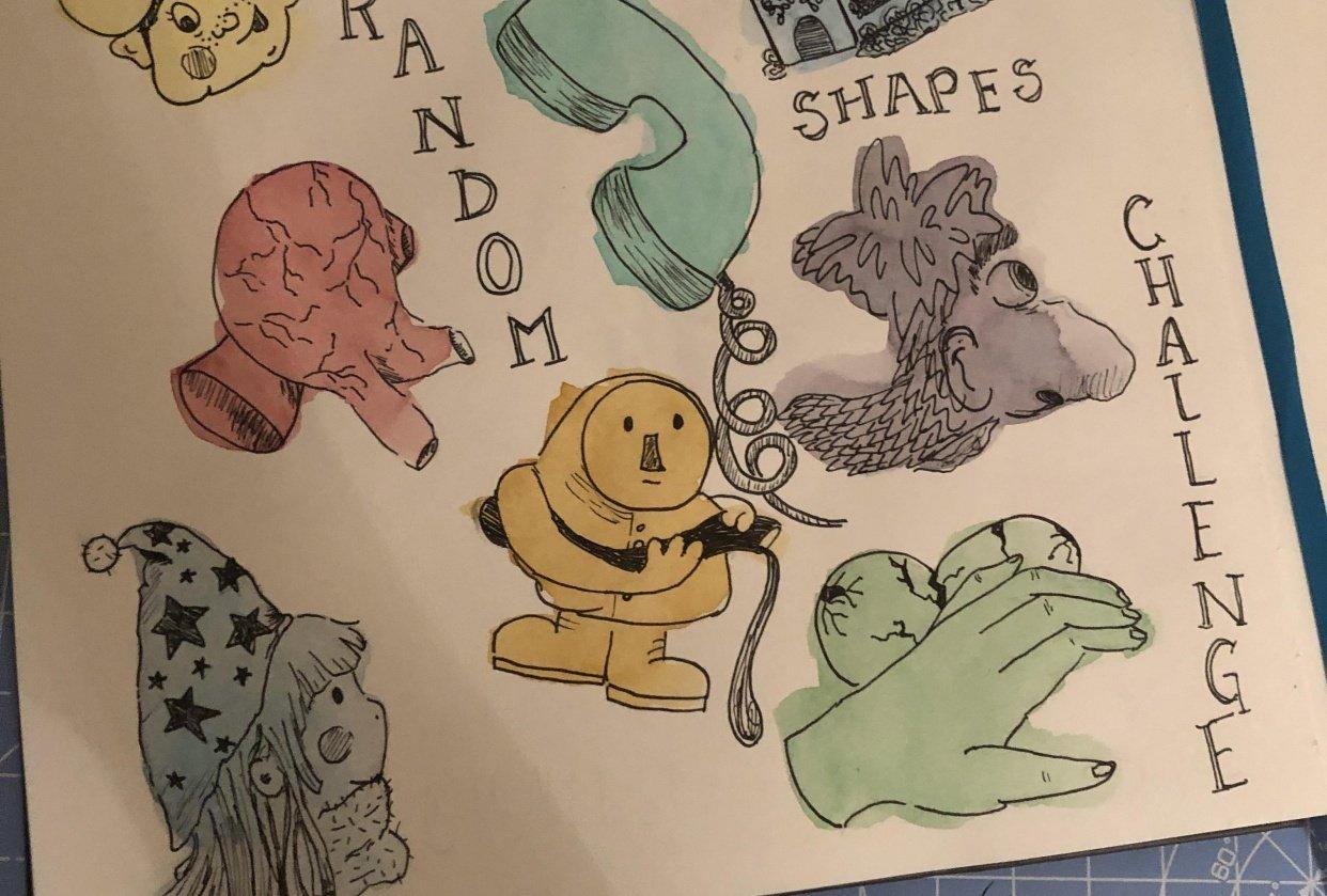 Random Shapes - student project